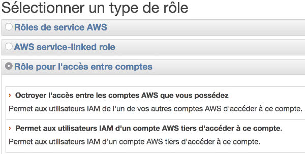 AWS Role creation for docker cloud